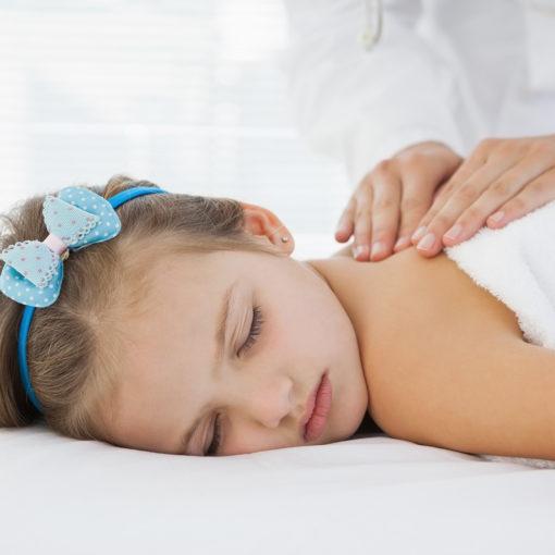 soin massage enfant